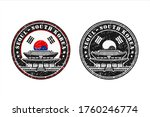 seoul south korea stamp travel  ...   Shutterstock .eps vector #1760246774
