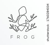 Abstract  Outline Frog. The...