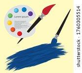 vector illustrations of cartoon ... | Shutterstock .eps vector #1760305514