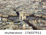 triumph arch from above   Shutterstock . vector #176037911