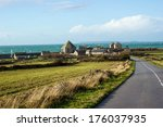 french small town | Shutterstock . vector #176037935
