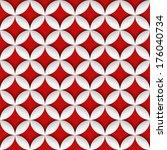 geometric seamless pattern   Shutterstock .eps vector #176040734