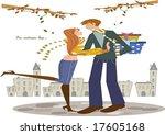 autumn story   Shutterstock .eps vector #17605168