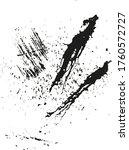 vector brushes ink stroke.... | Shutterstock .eps vector #1760572727
