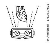 vr cardiac surgery black line...