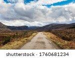 Highlands  Scotland. The A838...
