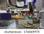 injection moulding machine used ... | Shutterstock . vector #176069975