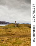 Remains Of Ardvreck Castle ...
