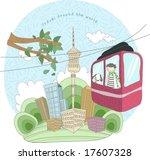 travel worldwide   Shutterstock .eps vector #17607328