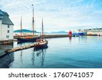 Vintage Boats In The Port Of...