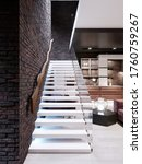 Modern Design Staircase In The...