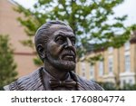 A Statue Of John Houlding Seen...