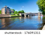 River Outhe In York  A City In...