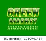 vector modern banner green...   Shutterstock .eps vector #1760941484
