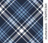 blue white plaid pattern...   Shutterstock .eps vector #1760951564