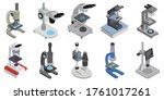 Microscope Isolated Isometric...