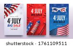 independence day usa sale... | Shutterstock .eps vector #1761109511
