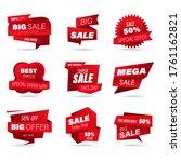 set of retail sale badge....   Shutterstock .eps vector #1761162821