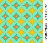 60s Inspired Vector Geometric...