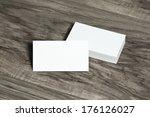 blank corporate identity... | Shutterstock . vector #176126027
