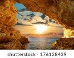inside of mainsail. nature... | Shutterstock . vector #176128439