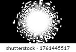 abstract radial halftone...   Shutterstock .eps vector #1761445517