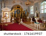 Orthodox Church. Candles  Cros...