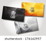 set of cards | Shutterstock .eps vector #176162957
