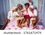 Four Beautiful African Women I...