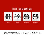 flip countdown. clock timer for ...