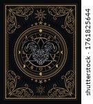 divine occult occultism vintage ...   Shutterstock .eps vector #1761825644