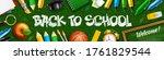 back to school horizontal... | Shutterstock .eps vector #1761829544