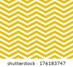 Yellow And White Zigzag...
