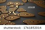 3d vector islamic pattern set... | Shutterstock .eps vector #1761852014