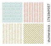 set of hand drawn grunge... | Shutterstock .eps vector #1761869357