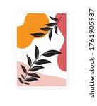 abstract poster design  vector. ... | Shutterstock .eps vector #1761905987