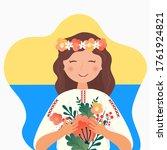 Ukrainian Girl Girl In The Fol...