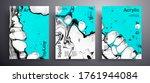 abstract acrylic banner  fluid... | Shutterstock .eps vector #1761944084