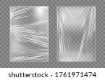 transparent stretch plastic... | Shutterstock .eps vector #1761971474