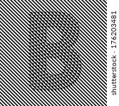 letter b   optical  illusion... | Shutterstock .eps vector #176203481
