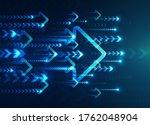 hi tech digital technology... | Shutterstock .eps vector #1762048904