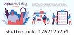 digital marketing concept...   Shutterstock .eps vector #1762125254