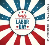 Labor Day Poster. Illustration...