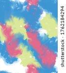 pattern in dynamic colors ... | Shutterstock .eps vector #1762184294