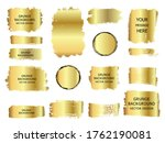 collection of vector gold ...   Shutterstock .eps vector #1762190081