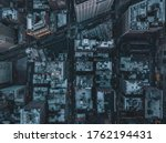 Aerial Overhead View Of...