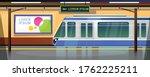 metro station or railway... | Shutterstock .eps vector #1762225211