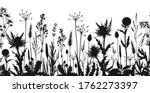 seamless horizontal border with ... | Shutterstock .eps vector #1762273397
