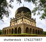 Qutub Shahi Tombs Consist Of...