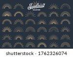 vintage sunburst collection....   Shutterstock .eps vector #1762326074